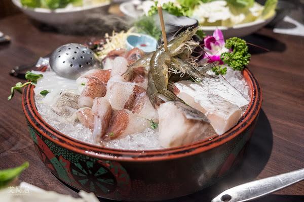 天鍋宴 新鮮大份量海鮮陸拼盤鍋 / 肉品海鮮可自由選擇搭配