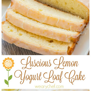Lemon Loaf Cake with Yogurt