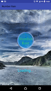 Number Rain - náhled