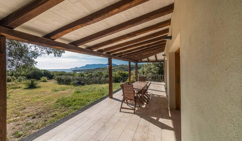 Villa avec jardin et terrasse Pittulongu