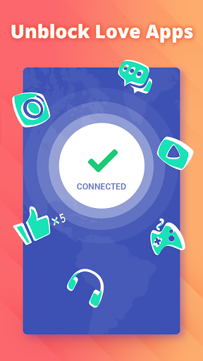 Free VPN proxy by Snap VPN 2.3.4 screenshots 3