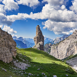 Campanille by Igor Gruber - Landscapes Mountains & Hills
