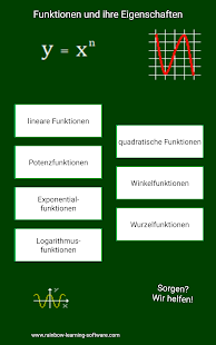 Funktionen Screenshot