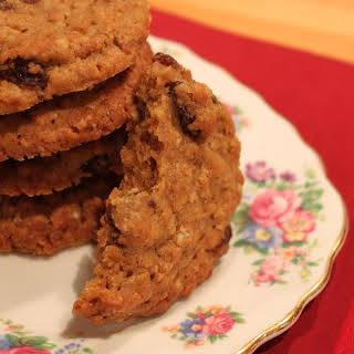 Spiced Oat and Raisin Cookies.