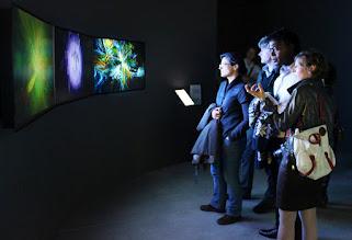 Photo: Generation 244 Triptych at Vida Retrospective in Madrid, 2012.05.