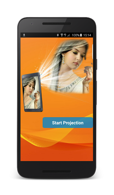 #7. Face Projector Simulator (Android)