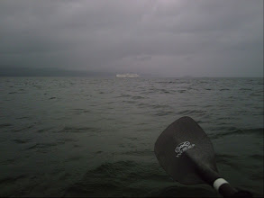 Photo: A BC ferry in Swanson Channel.