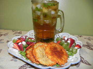 Iced Double Mint Tea Recipe