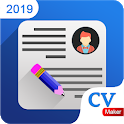 CV Maker Resume Builder PDF Template Format 2019 icon