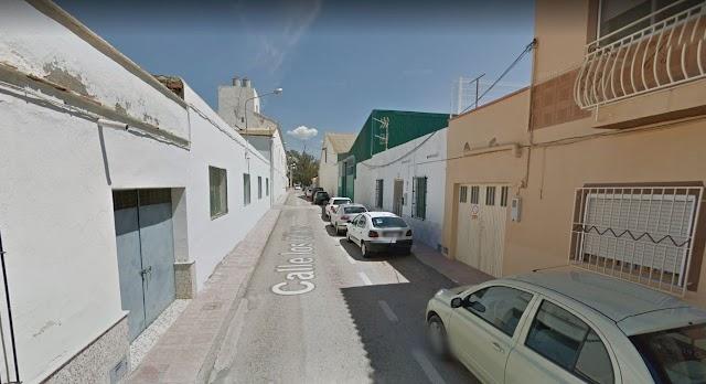 Captura de pantalla de la calle Los Olivos en Google Maps, donde la víctima se refugió.