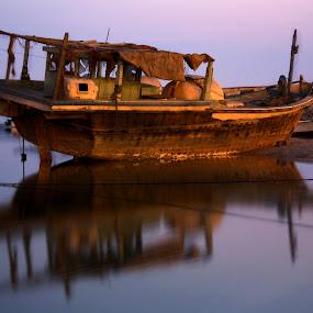 by Elisa Abiog - Transportation Boats
