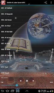 Full Quran Offline Ali Jaber - náhled