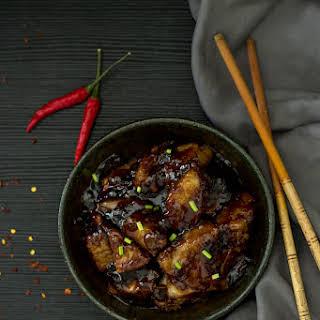 Vegan Sticky Chinese Jackfruit.