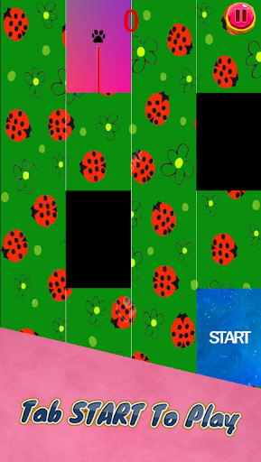 Piano Ladybug Noir Magic screenshot 2