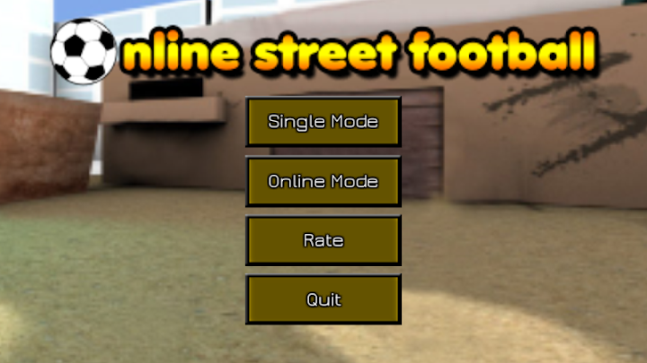 Online Street Football Android App Screenshot