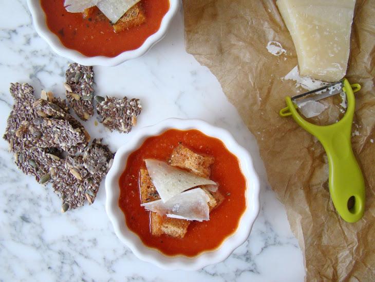 Tomato and Basil Cream Soup Recipe