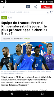 L'Equipe.fr : foot, rugby Screenshot 4