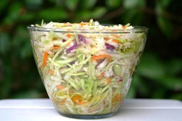 Marinated Cold Slaw Recipe