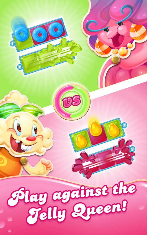 Screenshots of Candy Crush Jelly Saga for iPhone