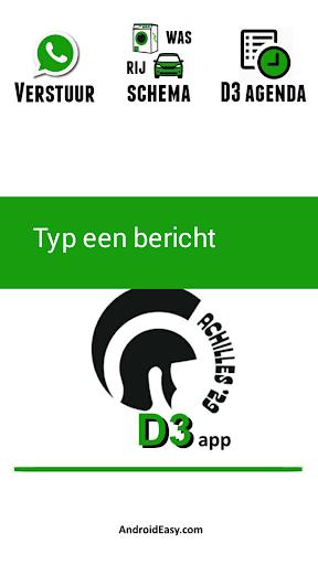 Achilles D3 app