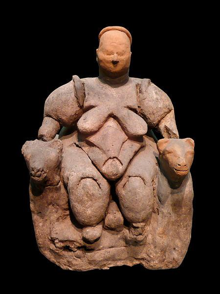 Picture of a Venus figurine.