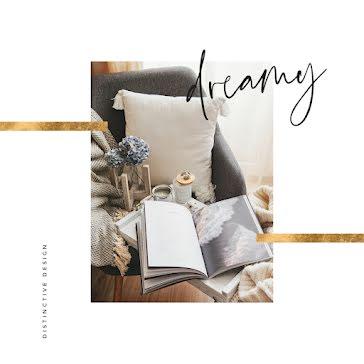 Lovely Cozy Dreamy - Instagram Post template