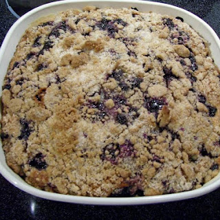 Worlds Best Blueberry Buckle Coffee Cake (by Freda Recipe