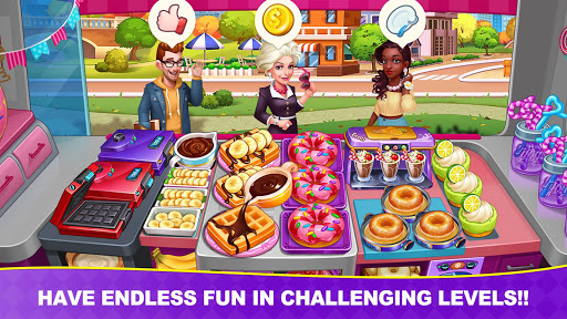 Cooking Frenzy: Madness Crazy Chef Cooking Games screenshots 12