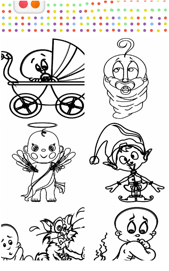 baby hazel coloring pages - photo#1