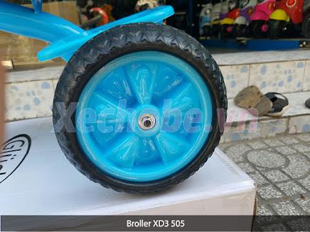 bánh xe đạp 3 bánh broller xd3 505