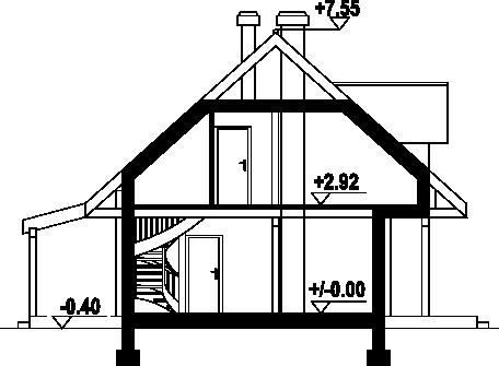 Świdnica mała dw 23 - Przekrój