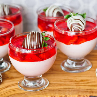 Strawberry Mousse Parfait
