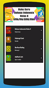 Buku Bahasa Indonesia Kelas X untuk Guru - náhled