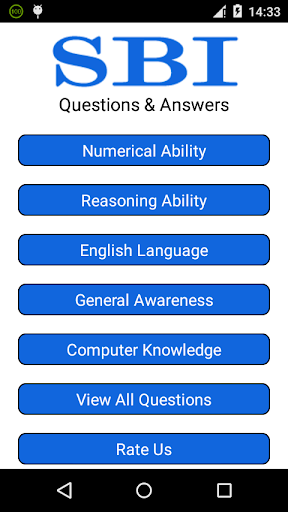 SBI Questions Answers
