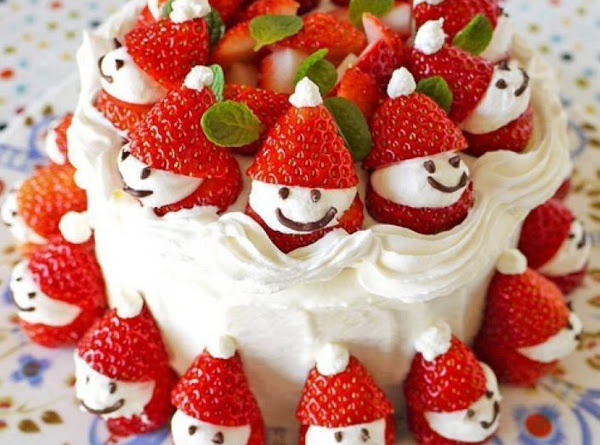 Strawberry Santa Recipe