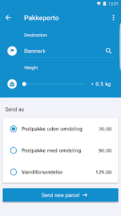 PostNord Denmark- screenshot thumbnail