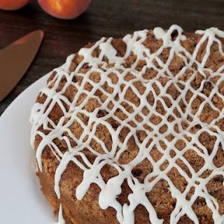 Gluten Free Blueberry Peach Coffee Cake