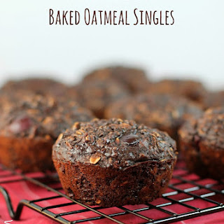 Chocolate Cherry Baked Oatmeal Singles