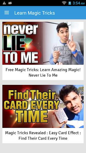 Learn Magic Tricks Screenshot