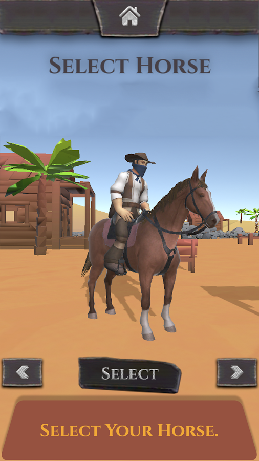 Wild West - Horse Chase Games- screenshot