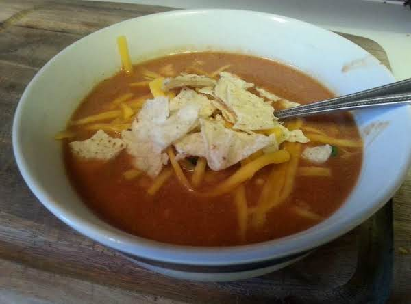 Candi's Chicken Enchilada Soup Recipe