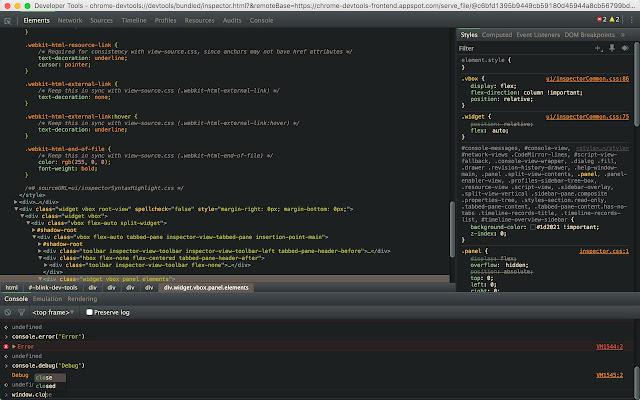 DevTools Theme: Gruvbox Dark
