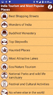 India Top Tourist Places Guide- screenshot thumbnail