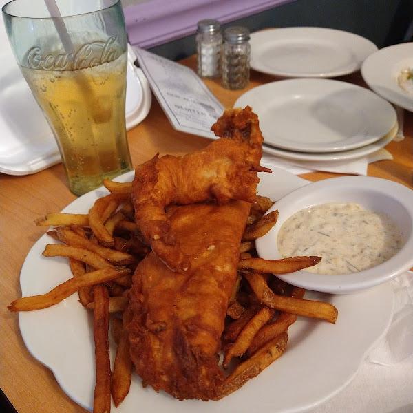 Amazing fish fry