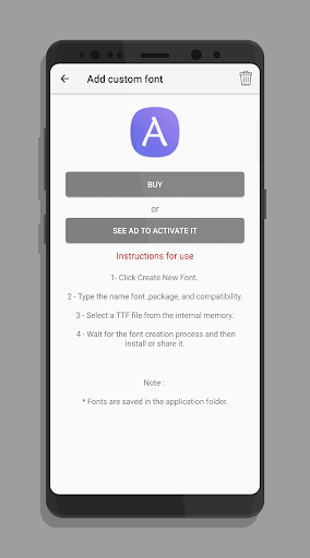 AFonts for SAMSUNG 2.1.2 screenshots 5
