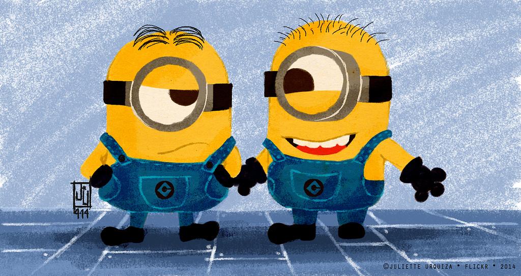 Minions | Minion (1): Papoe?... no no... Minion (2): eeehh..… | Flickr