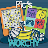 Worchy! Picture Word Search