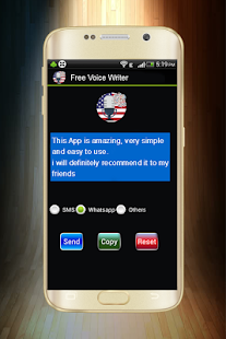 Free voice writer -speech to text app- - náhled
