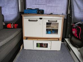 Photo: Und wo wir nun schonmal bei Peter sind....seine Minieinbauküche aus der Kinderabteilung eines schwedischen Möbelhauses