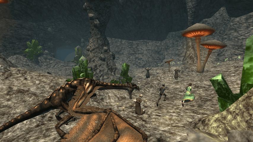 android Wyvern Simulator 3D Screenshot 5